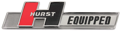 Hurst Equipped Self Adhesive Fender Emblem