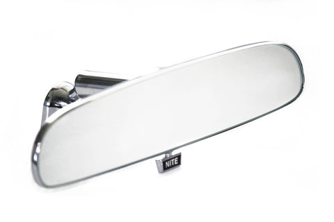 Universal Chrome Rear View Mirror Billet Steel Day/Night
