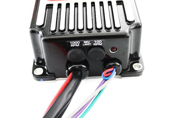 Black MSD Street Fire High Performance Digital Ignition Box w/Rev Limiter & Coil