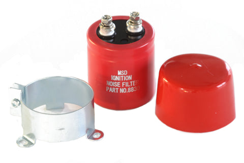 MSD Noise Capacitor 26 KUFD Ignition Box Noise Reducer Filter