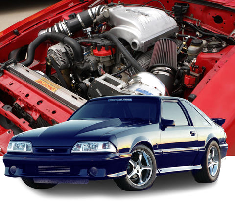 ProCharger 1986-93 Ford Mustang and Cobra 5.0 HO Intercooled System w/ P-1SC-1