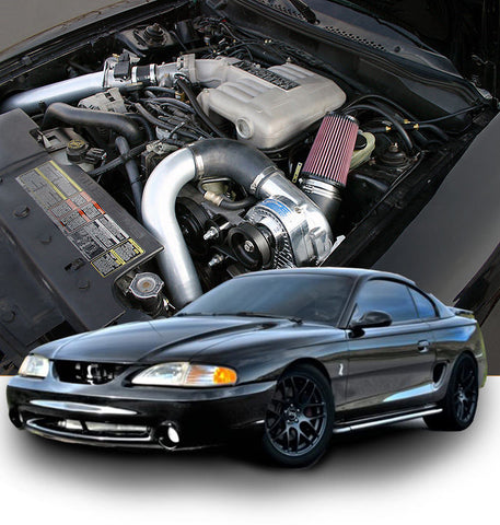 ProCharger 1994-95 Ford Mustang and Cobra 5.0 HO Intercooled System w/ P-1SC-1