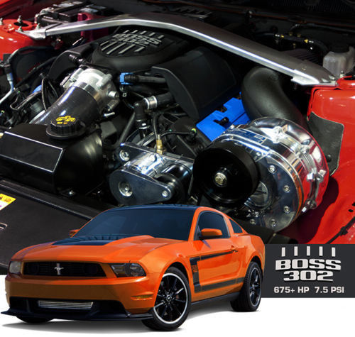 ProCharger 2012-13 Ford Mustang Boss 302 HO Intercooled Tuner Kit w/ P-1SC-1