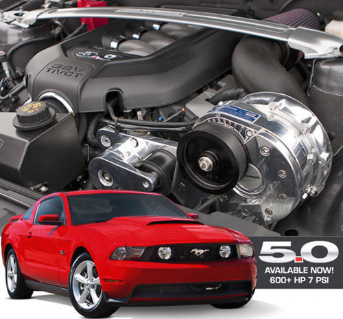 ProCharger 2011-14 Ford Mustang GT 5.0 4V HO Intercooled Tuner Kit w/ P-1SC-1