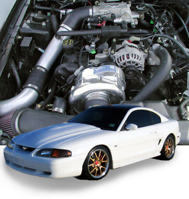 ProCharger 1996-98 Ford Mustang GT 4.6 2V HO Intercooled System w/ P-1SC-1