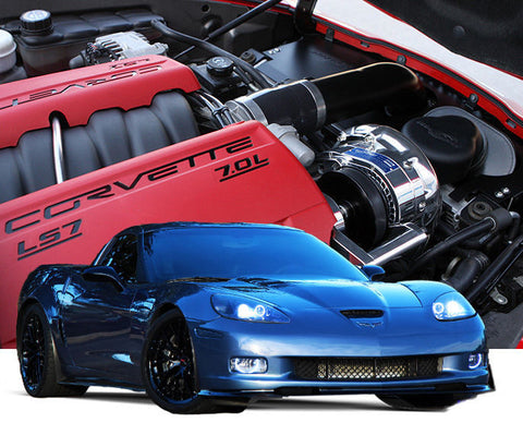 Chevy Corvette Z06 2006-2013 LS7 ProCharger HO Intercooled Tuner Kit w/ P-1SC-1
