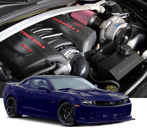Chevy Camaro Gen 5 2014-15 Z28 LS7 ProCharger HO Intercooled Tuner Kit w/ P-1SC-1