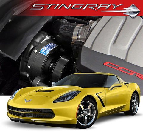 Chevy Corvette C7 Stingray LT1 ProCharger HO Intercooled Tuner Kit w/ P-1SC-1