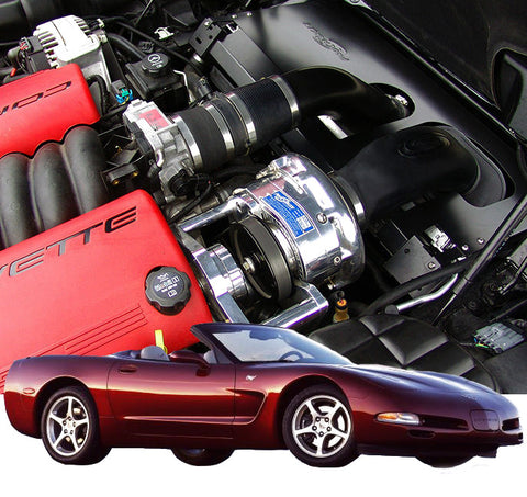 Chevy Corvette C5 1997-04 LS1 ProCharger Stage II Intercooled Tunerkit W/P-1SC-1