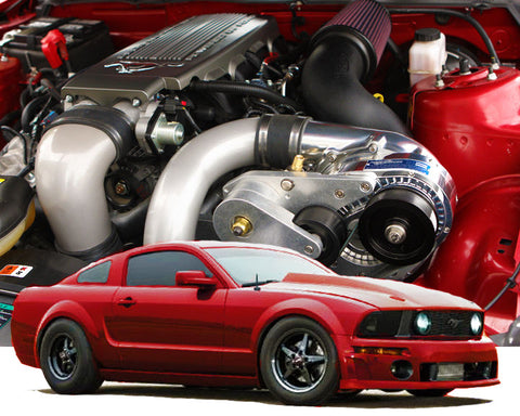 ProCharger 2005-10 Ford Mustang GT 4.6 3V HO Intercooled Tuner Kit w/P-1SC-1