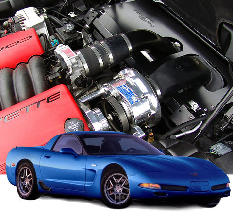 Chevy Corvette C5 2001-04 Z06 LS6 ProCharger Stage II Intercooled W/P-1SC-1