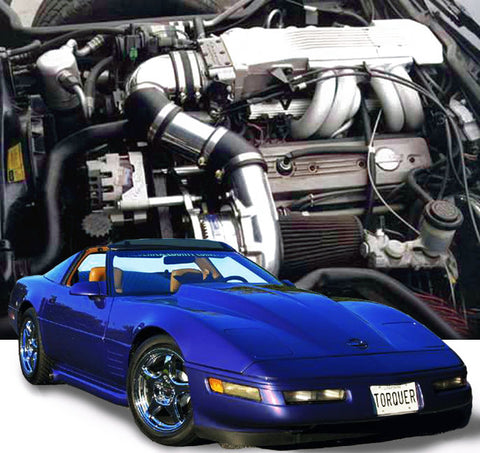 Chevy Corvette C4 1985-91 L98 TPI ProCharger HO Intercooled System W/P600B