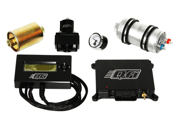 Quick Fuel EFI Fuel Injection System Complete Master Kit w/ Fuel Pump
