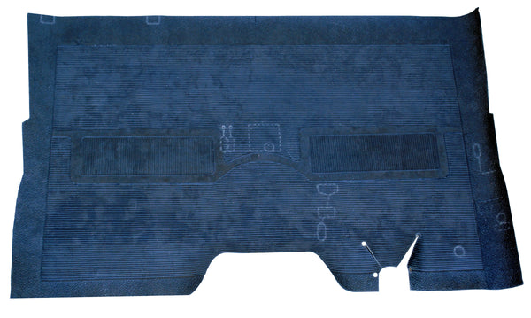 47-54 Chevy/GMC Truck Black Full Rubber Factory Style Floor Mat
