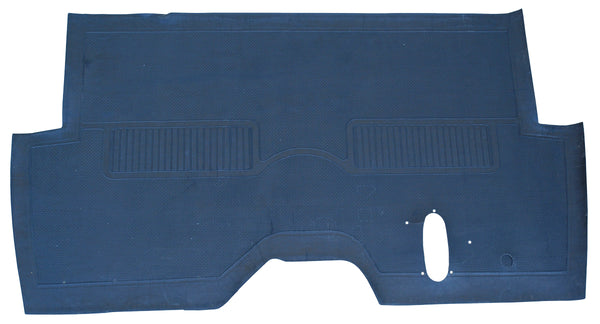 55-59 Chevy/GMC Truck Black Full Rubber Factory Style Floor Mat