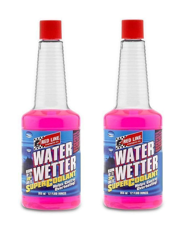 2 Redline Water Wetter Super Coolant Radiator Additive Overheating Control