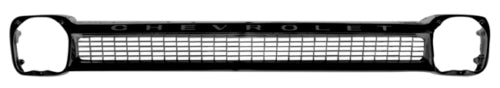64-66 Chevy Truck Black Grille Shell with Chevrolet Lettering