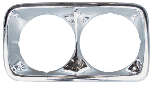68-72 GMC C15 Truck Premium Chrome Aluminum Outer Grill Shell with Headlight Bezels