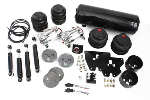 63-72 Chevy C10 Truck Air Ride Suspension Kit 2700/2600lbs Bags & Shocks