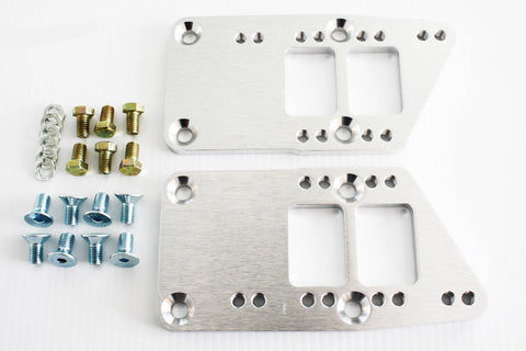 Chevy LS Billet Engine Conversion Motor Mount Adapter Plates Swap Kit
