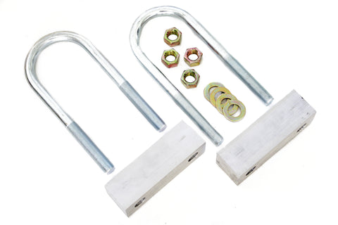 "60-72 Chevy Truck Aluminum Rear 1"" Lowering Drop Block Kit for Trailing Arms"