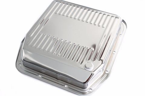 Ford AOD Chrome Stock Capacity Transmission Pan