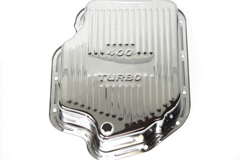 Chrome Chevy Turbo 400 Deep Transmission Pan Extra Capacity