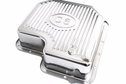 Chrome Ford C6 Extra Deep Capacity Transmission Pan