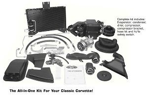 Vintage Air Gen IV Sure Fit Electronic 58-76 Corvette A/C Kit