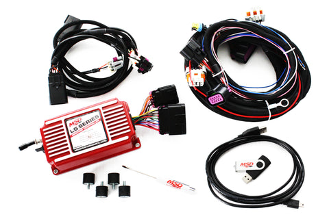 MSD LS Digital Ignition Box Carbureted