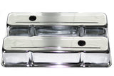 SBC Chrome Steel Tall Valve Covers