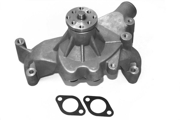 BBC Long High Performance Satin Aluminum Water Pump