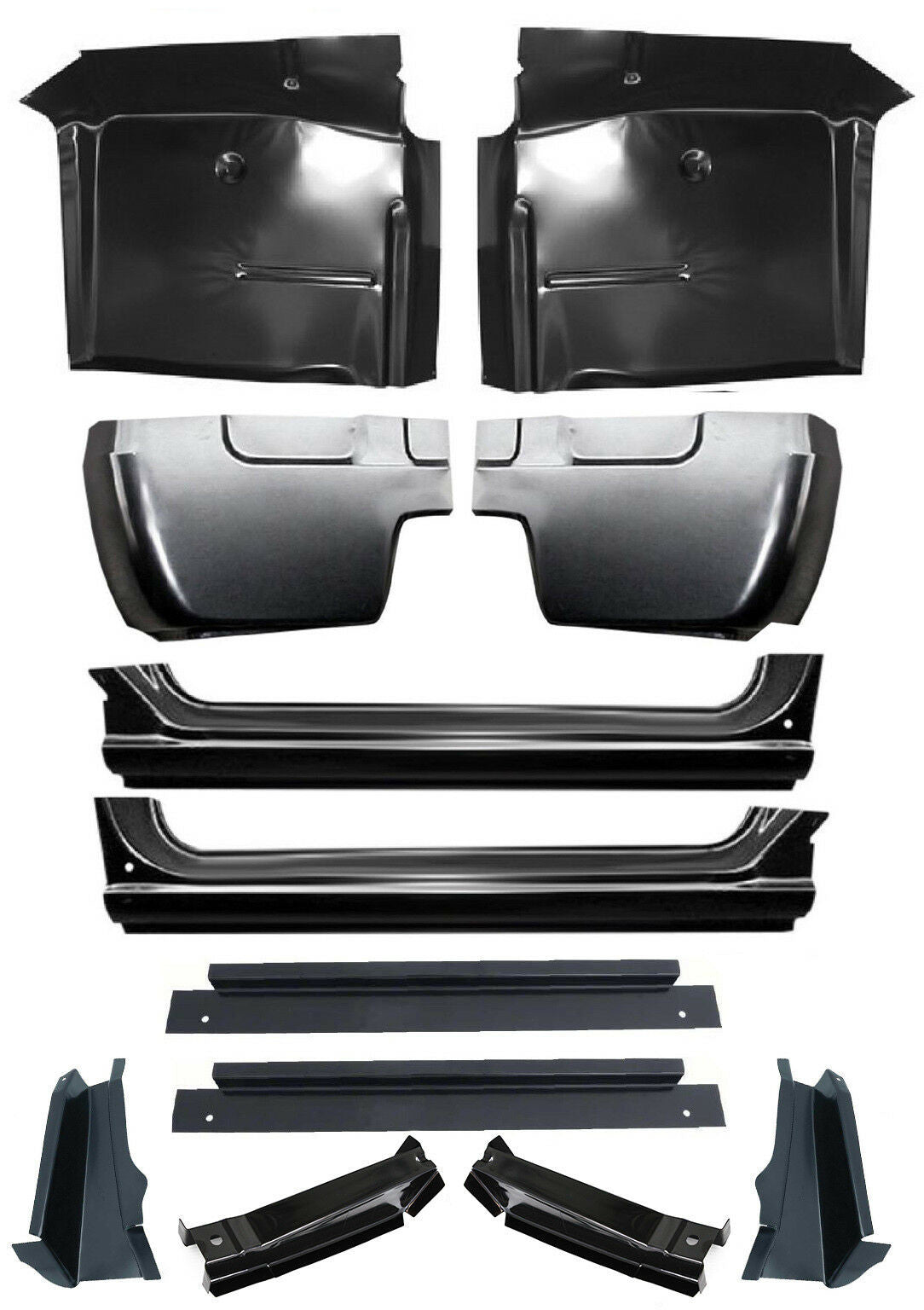 67 72 Chevy C10 Truck Cab Corner Rocker Panel Slip On Cab Mount Floor Jlfabrication