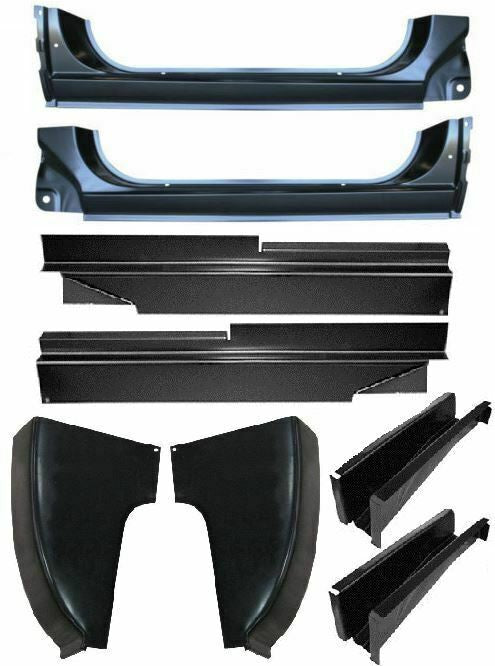 73-87 Chevy/GMC Truck LH & RH Side Cab Corners, Mounts & Rocker Patch Panels