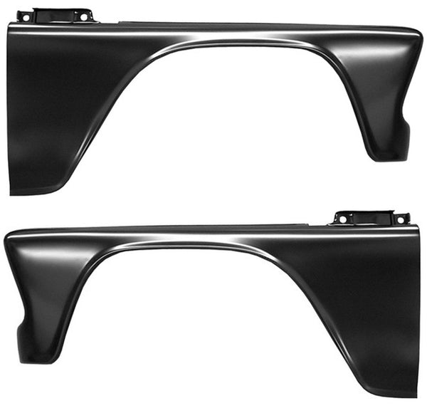 60-66 Chevy/GMC C10 Truck LH & RH Side Front Fender