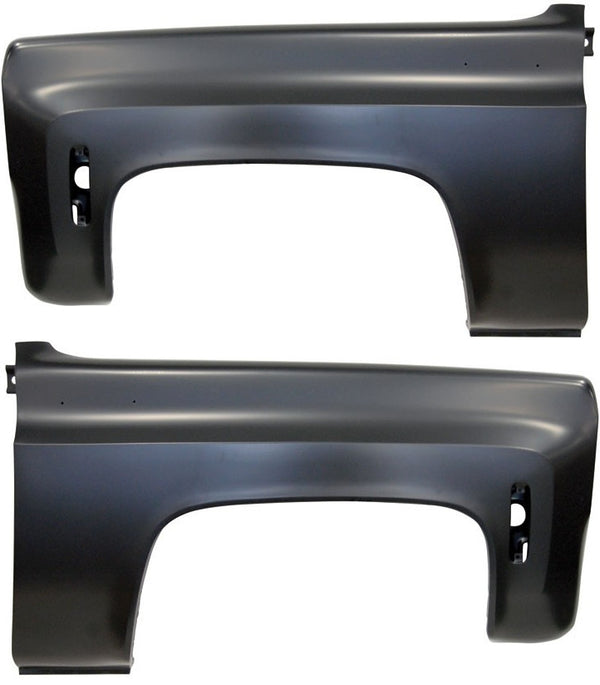 73-80 Chevy/GMC Truck C/K LH & RH Side Front Fenders Pair