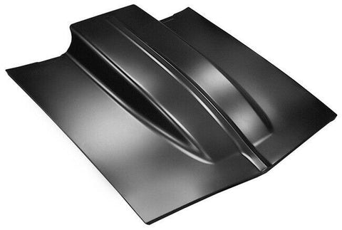 "67-69 Chevy Camaro Steel Z28 4"" Cowl Induction Hood R/S SS"