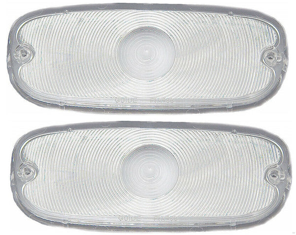 58-59 Chevy Truck Clear Park Light Lamp/Turn Signal Lenses