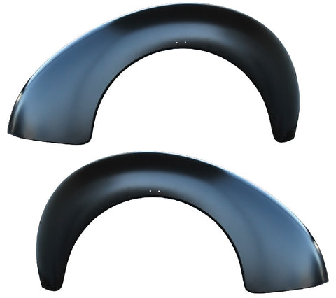 40-46 Chevy Truck Steel LH & RH Rear Bed Fenders Driver/Passenger Side