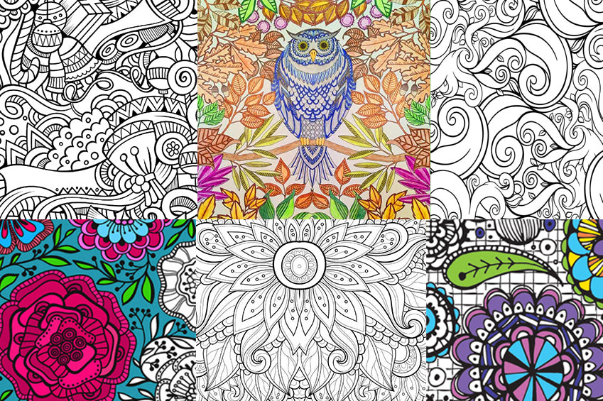 Finding Coloring Books For Adults