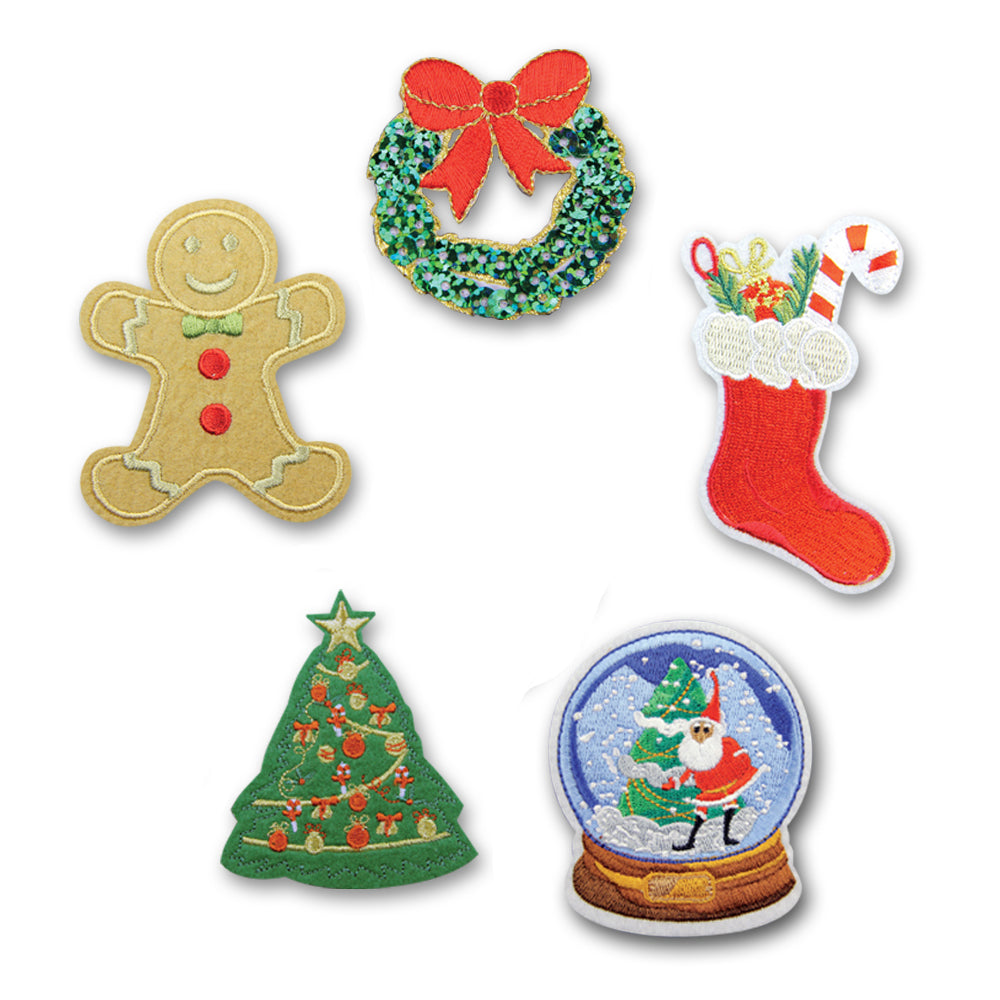 Instant Ugly Christmas Sweater Patches Set – DCI Gift