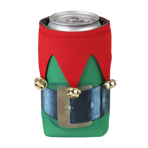 a can dressed with drinkooliez beer bellies