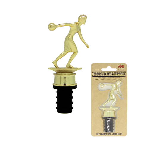 world champion bottle stopper with packaging