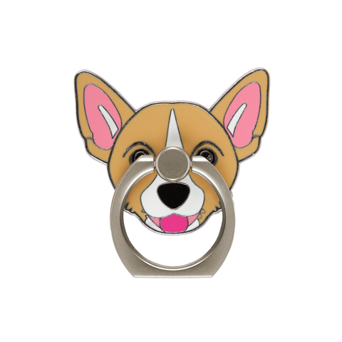 corgi phone finger ring