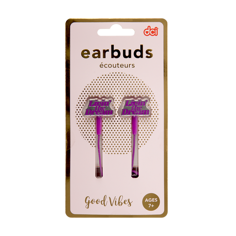 Cute Earbuds: Livin' the Dream