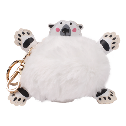 Polar Bear Pompom Power Bank