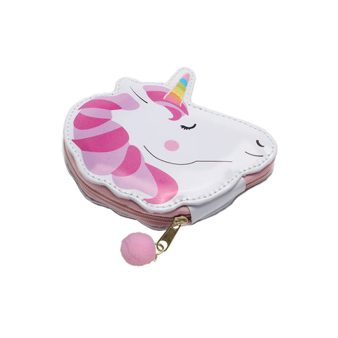 unicorn nail manicure pedicure set case