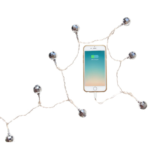 LED Charging Cable for iPhone 5,6,7,8: Disco