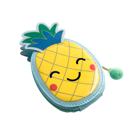 pineapple nail manicure kit case