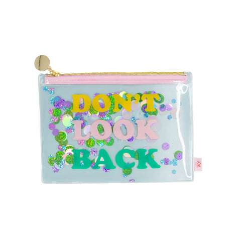 Floating Glitter Pouch: Don't Look Back